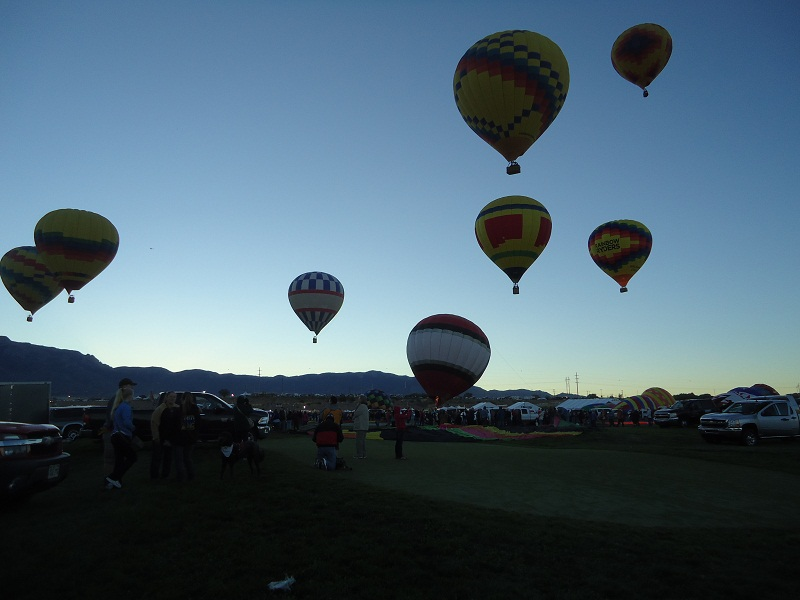 Mass Ascension, Albuquerque Balloon Fiesta