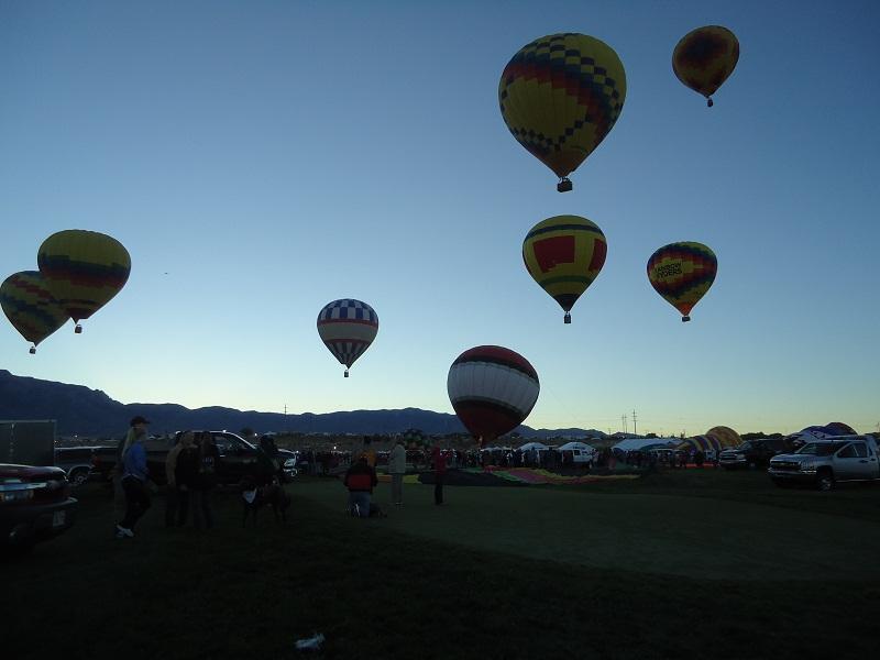 Mass Ascension, Albuquerque Balloon Fiesta